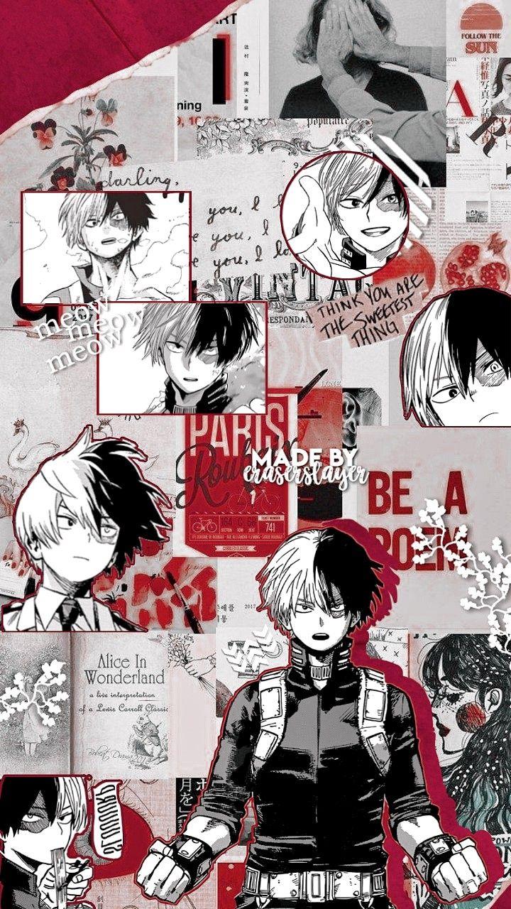 Pin By Aardbeienmilkshake On Wallpapers By Eraserslayer In 2020 Hero Wallpaper Cute Anime Wallpaper Anime Wallpaper Iphone