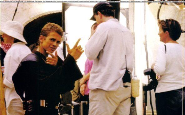 Star Wars Attack Of The Clones Behind The Scenes Hayden