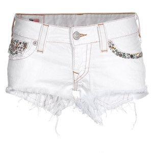 Embellished white shorts :D | Shorts | Pinterest | Shorts