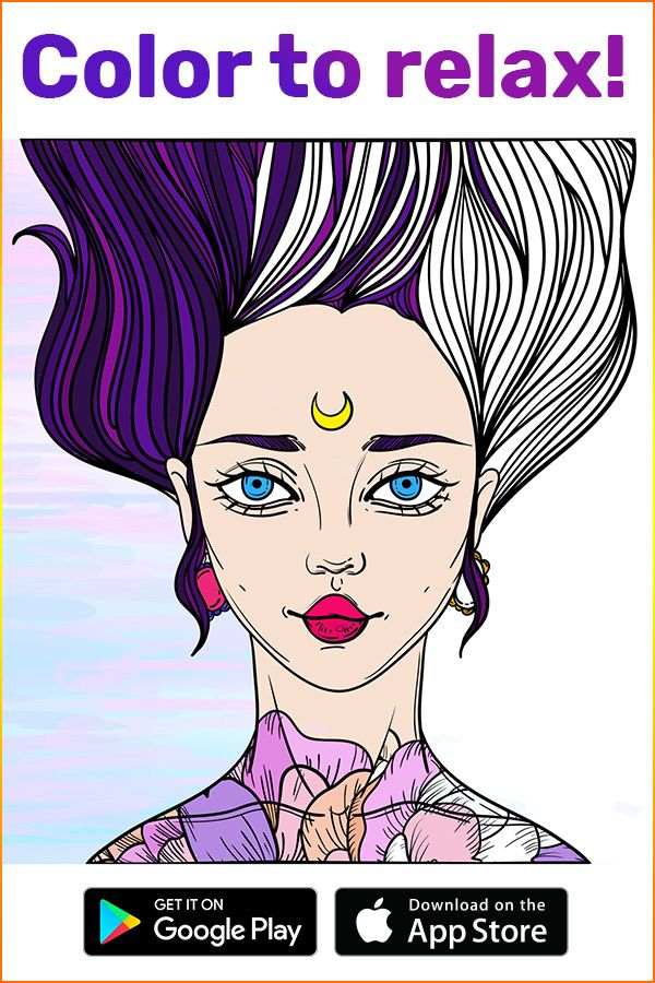 Plunge Into A Fairy World Of Coloring With Coloring Book For Me App A Perfect Tool To Relax While The Time Away A Coloring Books Coloring Pages Dream Drawing