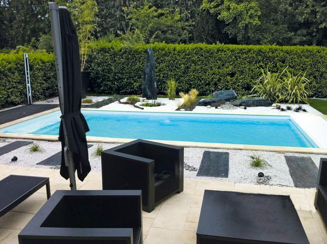 piscine id es d co et am nagement autour de la piscine elle d coration jardin outdoor. Black Bedroom Furniture Sets. Home Design Ideas