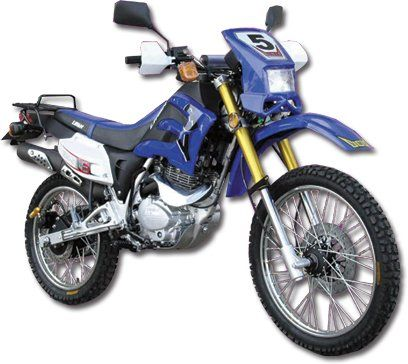 200cc 4 Stroke Motorcycle Enduro Trail Bike by Lifan
