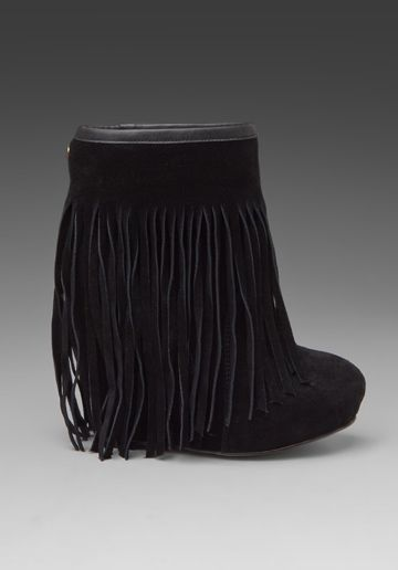 3de53fc18d9 KOOLABURRA Veleta Fringe Wedge Boot in Black at Revolve Clothing ...