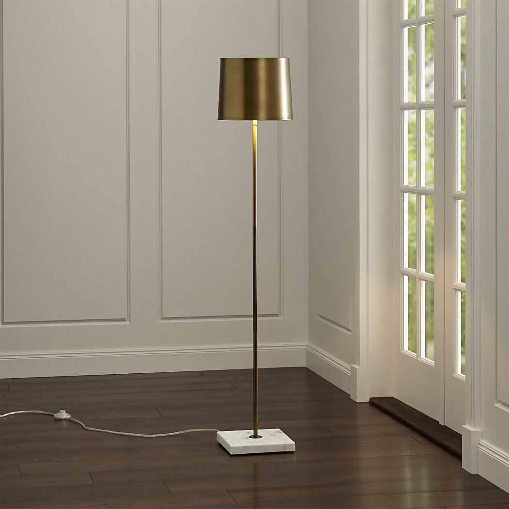 Shop Astor Floor Lamp. From its cool white marble base to