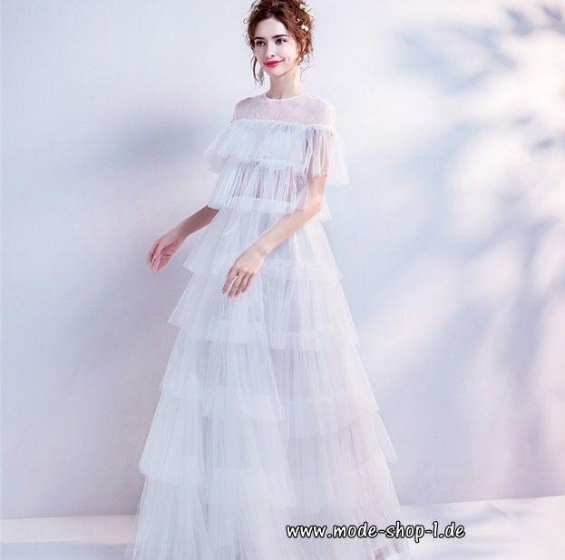 Vintage Tüll Brautkleid 2019 Hannelene ...