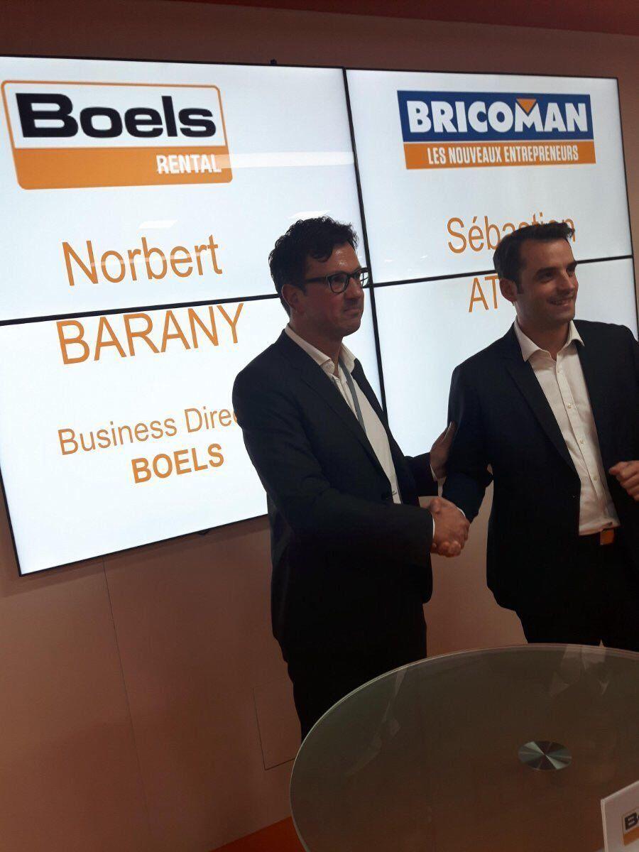 Bricoman Et Boels Rental S Engagent A Votre Service Btob Medias Sociaux Service