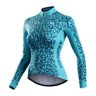 The Veix Womens Long Sleeve Cycle Jersey Https Www Silversky Co Nz Product 1540994 Biking Outfit Cycling Outfit Mountain Bike Clothing
