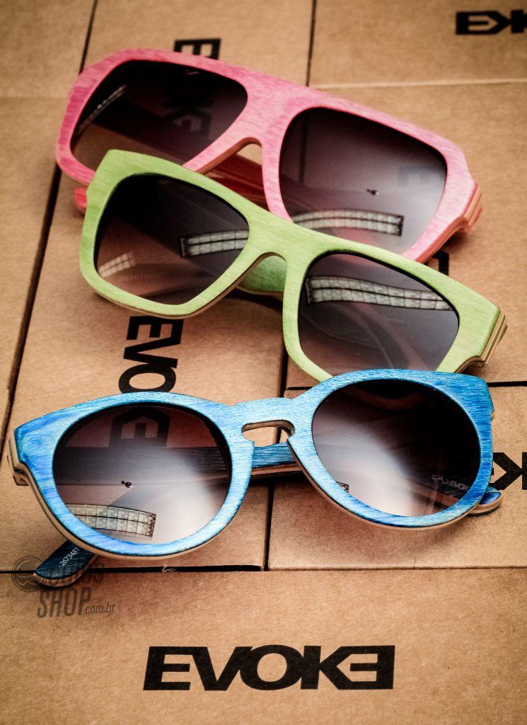 Novidades da Evoke trás óculos de madeira Maple! Essa nova coleção ficou  incrível.  oculos  evoke  wood  madeira  maple 711c971fab