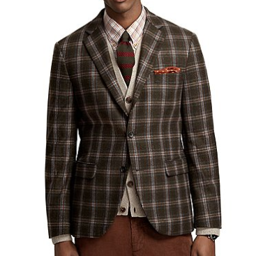 Basquiat (via theJunctioned) Brooks Brothers Milano Fit...