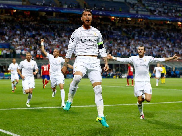 Report: Manchester United preparing £42m bid for Real Madrid defender Sergio Ramos
