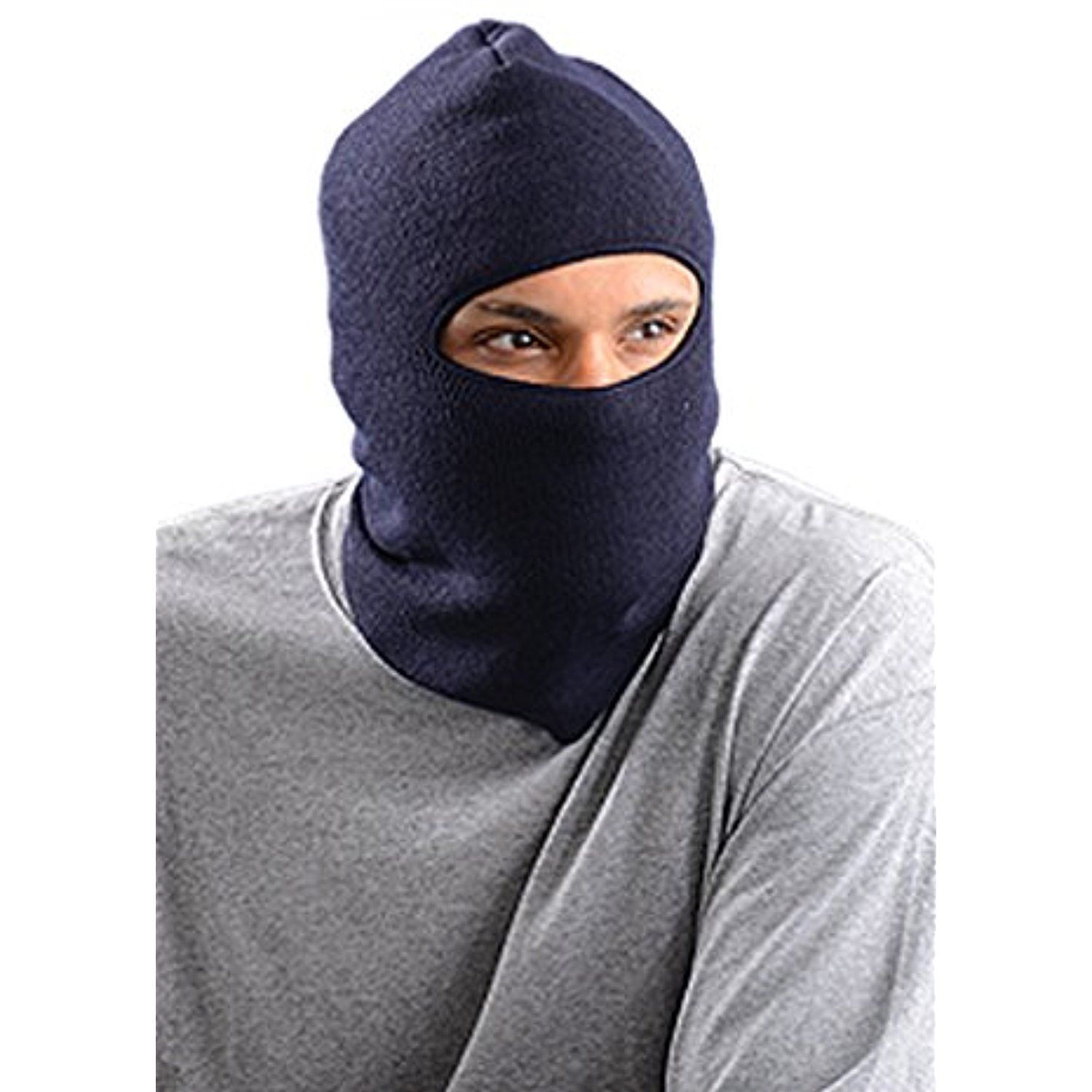 Stay Warm Lined Insulated Face Mask Navy Made In The Usa