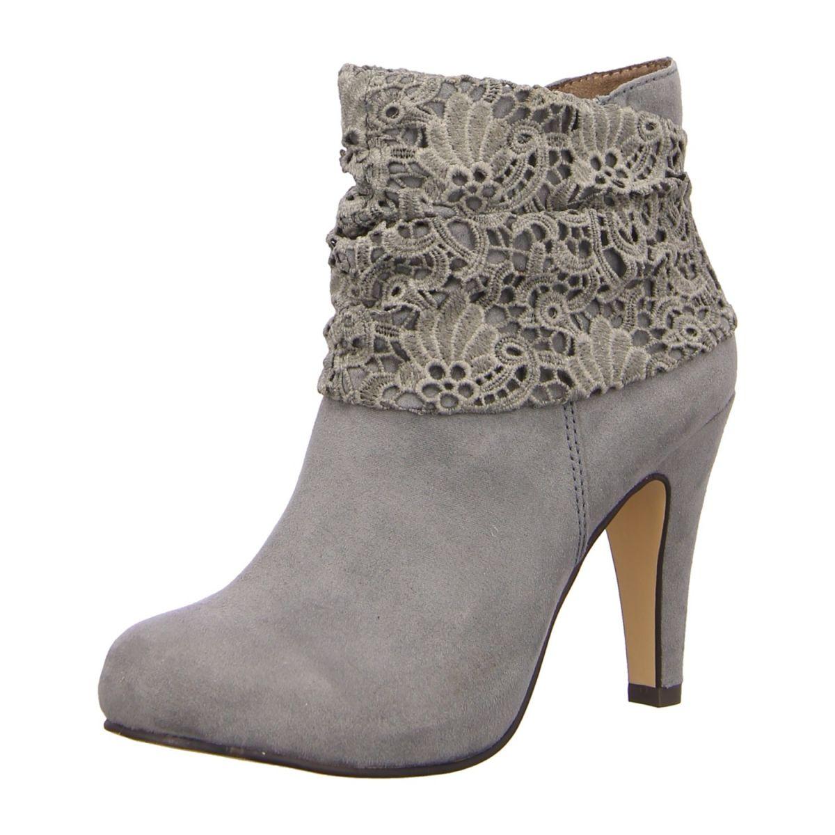 NEU: Tamaris Stiefeletten 1 1 25324 26 200 grey   Schuhe