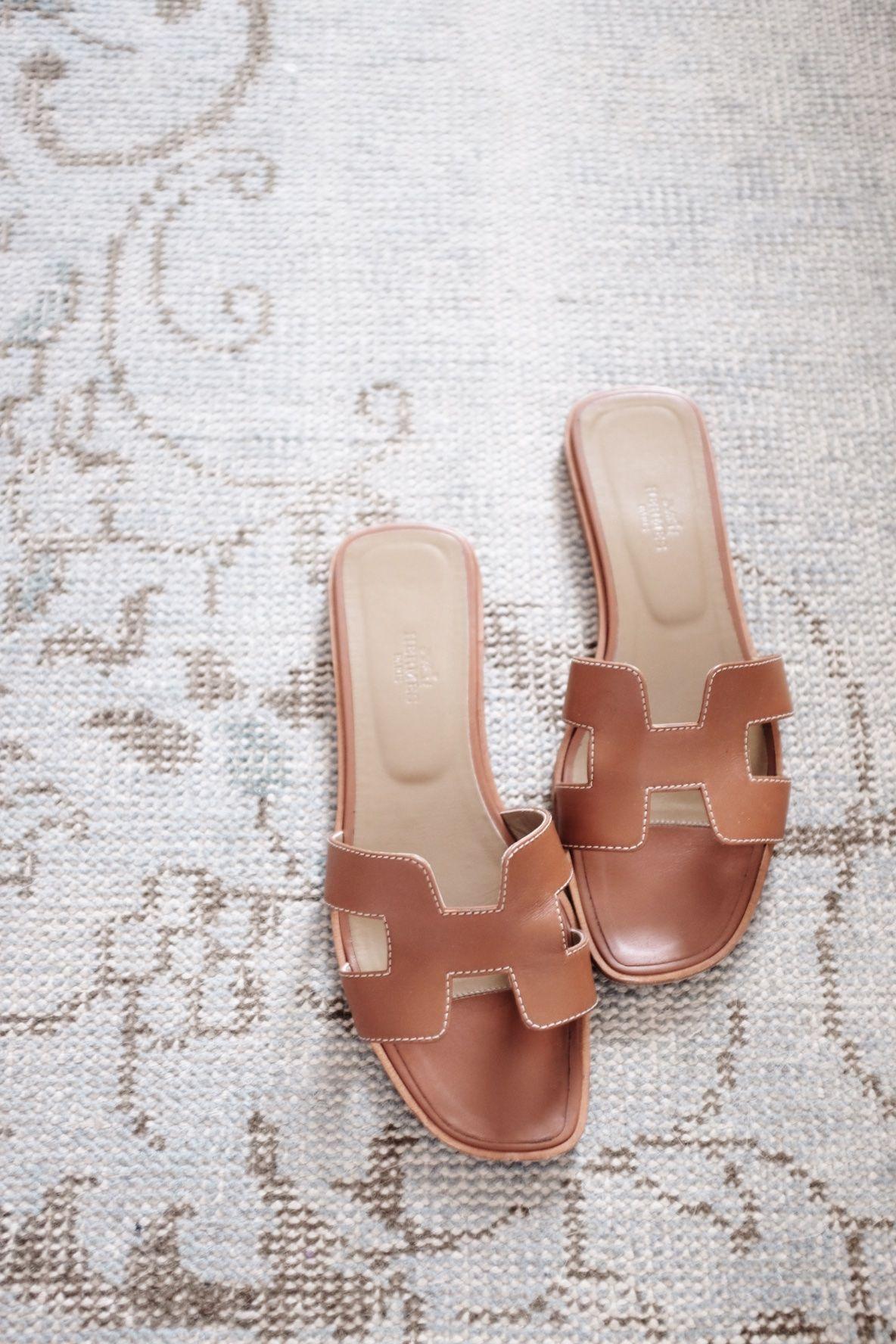 Hermes Oran Sandals