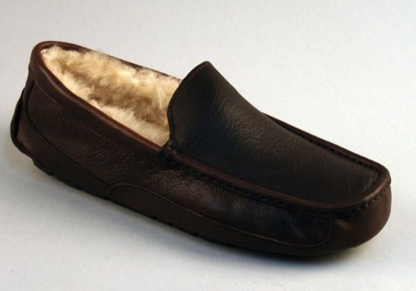 2daf722cf7ad UGG Men s Ascot Leather Slippers in