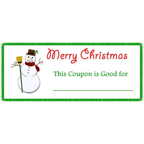 Christmas Mage Gift Coupons