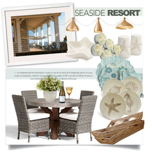 seaside resort by clotheshawg on polyvore featuring polyvore