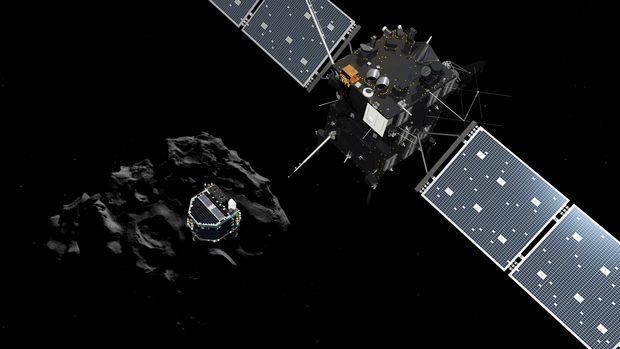 Philae conseguiu enviar dados do cometa antes de ficar sem bateria