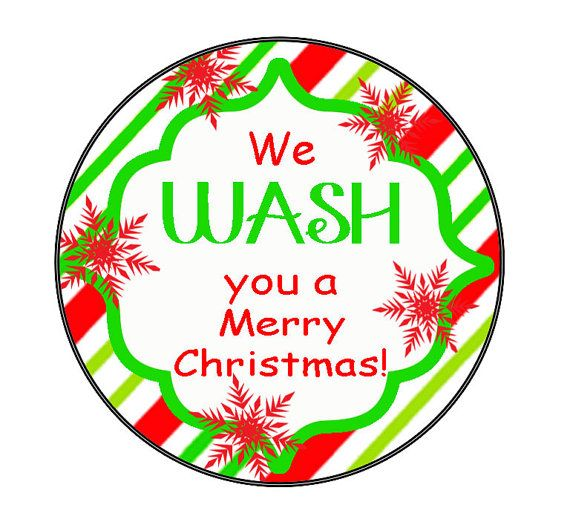photo about We Wash You a Merry Christmas Free Printable known as We Clean on your own a Merry Xmas printable tag. Adorable for Tub