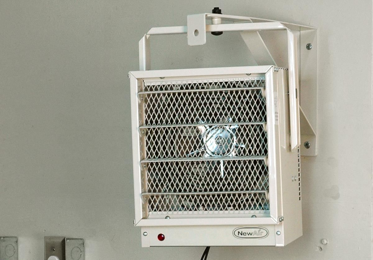 The Newair G73 Electric Garage Heater Is Safer And More Energy