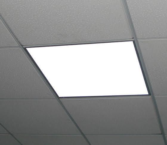 Led Panels Illuminate The Room Immediately Spreading Light Efficiently They Are An Ideal Retrof Ceiling Panels Ceiling Design Modern