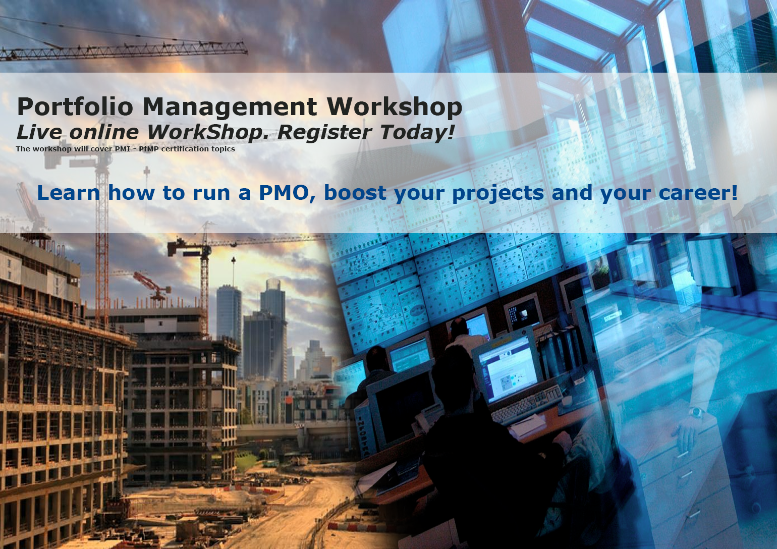 Portfolio Management (PfMP) Live Online Workshop