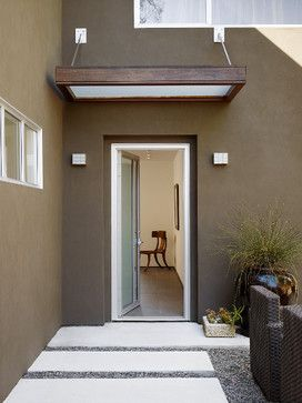 Contemporary Home Door Awning Design Pictures Remodel Decor and Ideas & Contemporary Home Door Awning Design Pictures Remodel Decor and ...