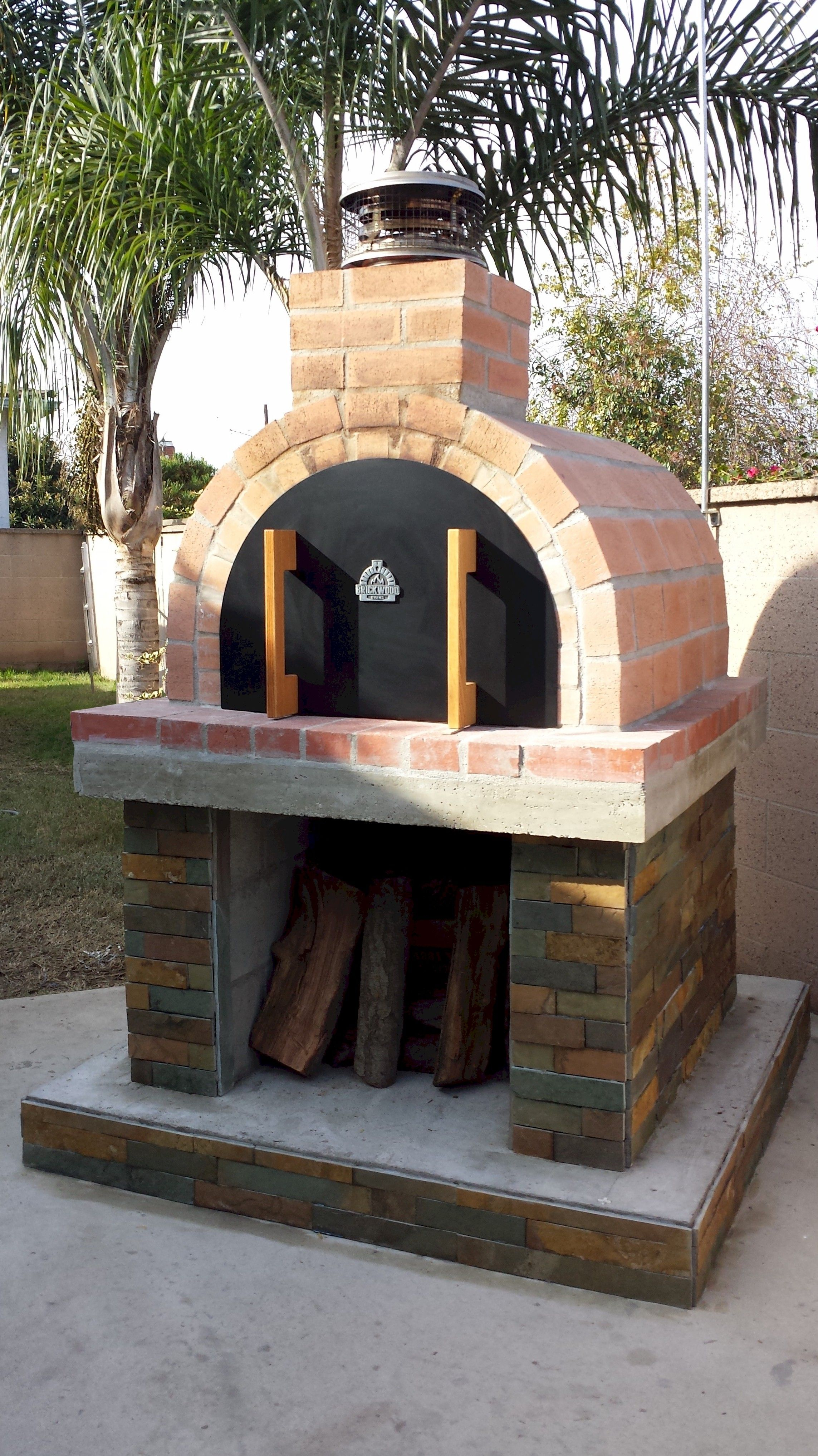 Brickwood Outdoor Pizza Ovens Diy Wood Fired Wood Burning Pizza Oven Kits Pizza Oven Outdoor Diy Backyard Pizza Oven Pizza Oven Outdoor Backyard diy pizza oven