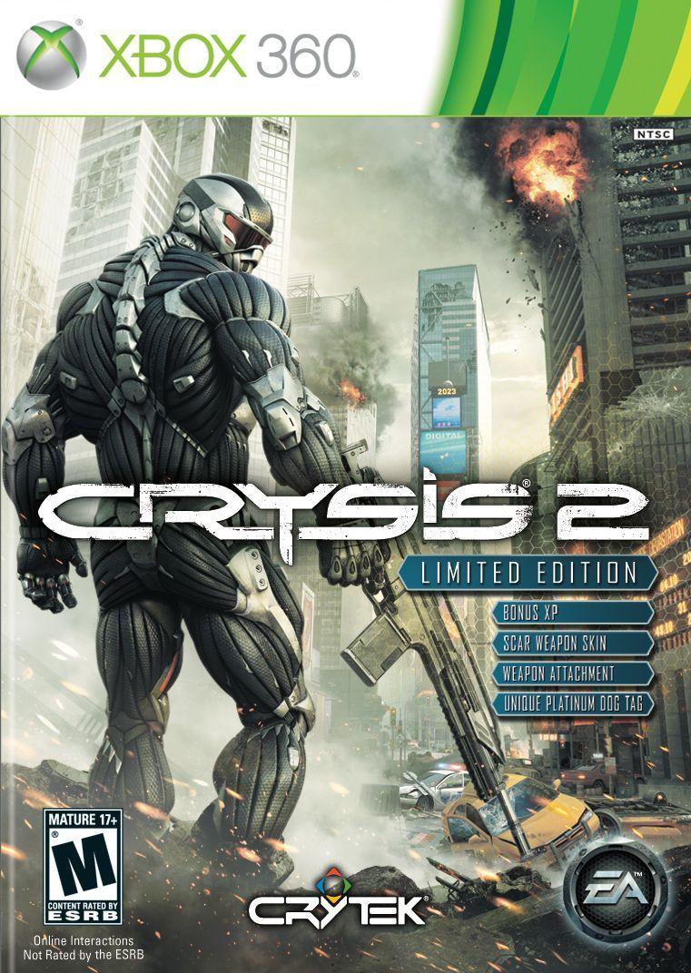 Crysis 2 (Limited Edition) Juegos para xbox 360