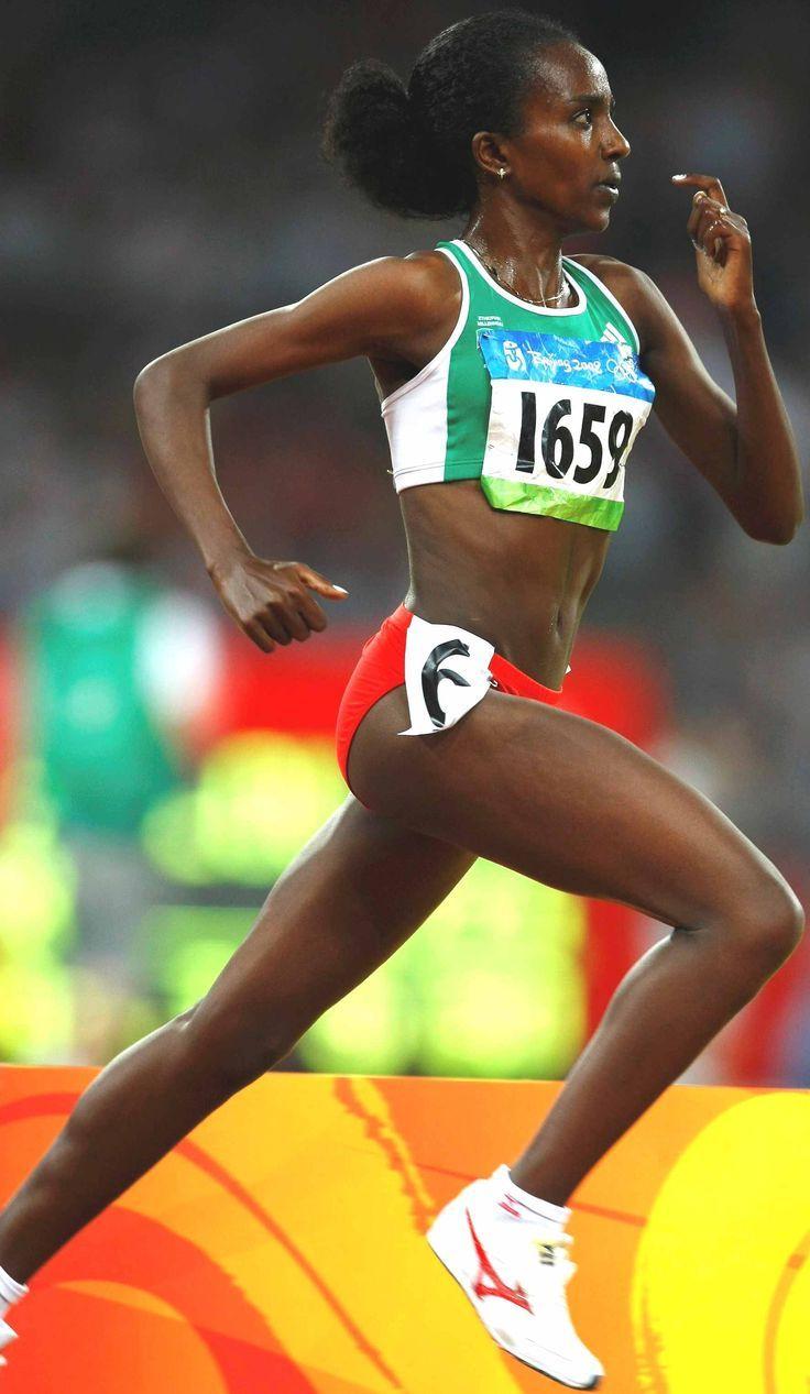 Olympic Games ladies runner Tirunesh Dibaba , Ethiopia