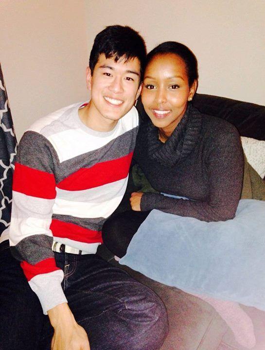 Beautiful multiracial couple #love #ambw #bwam #Blasian #swirl #lovingday