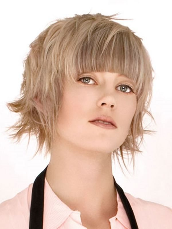 Hairstyles For Women With Round Faces Short Hairstyles For Round Faces Women's  Short Hairstyles Round