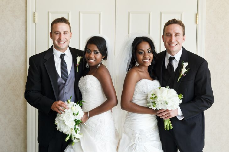 Twin Wedding by Shelley Paulson Photography
