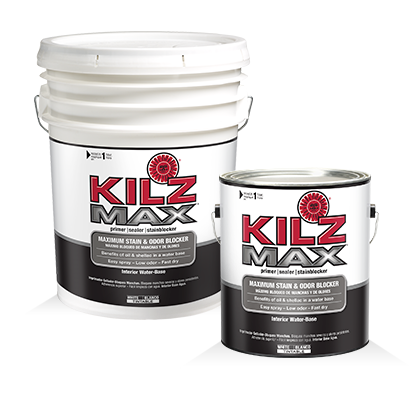 If garage walls require wall paint - start with KILZ® Max ...