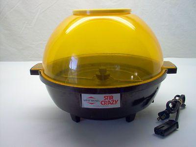West Bend Stir Crazy Dome Popcorn Popper 70s80s Funstuff