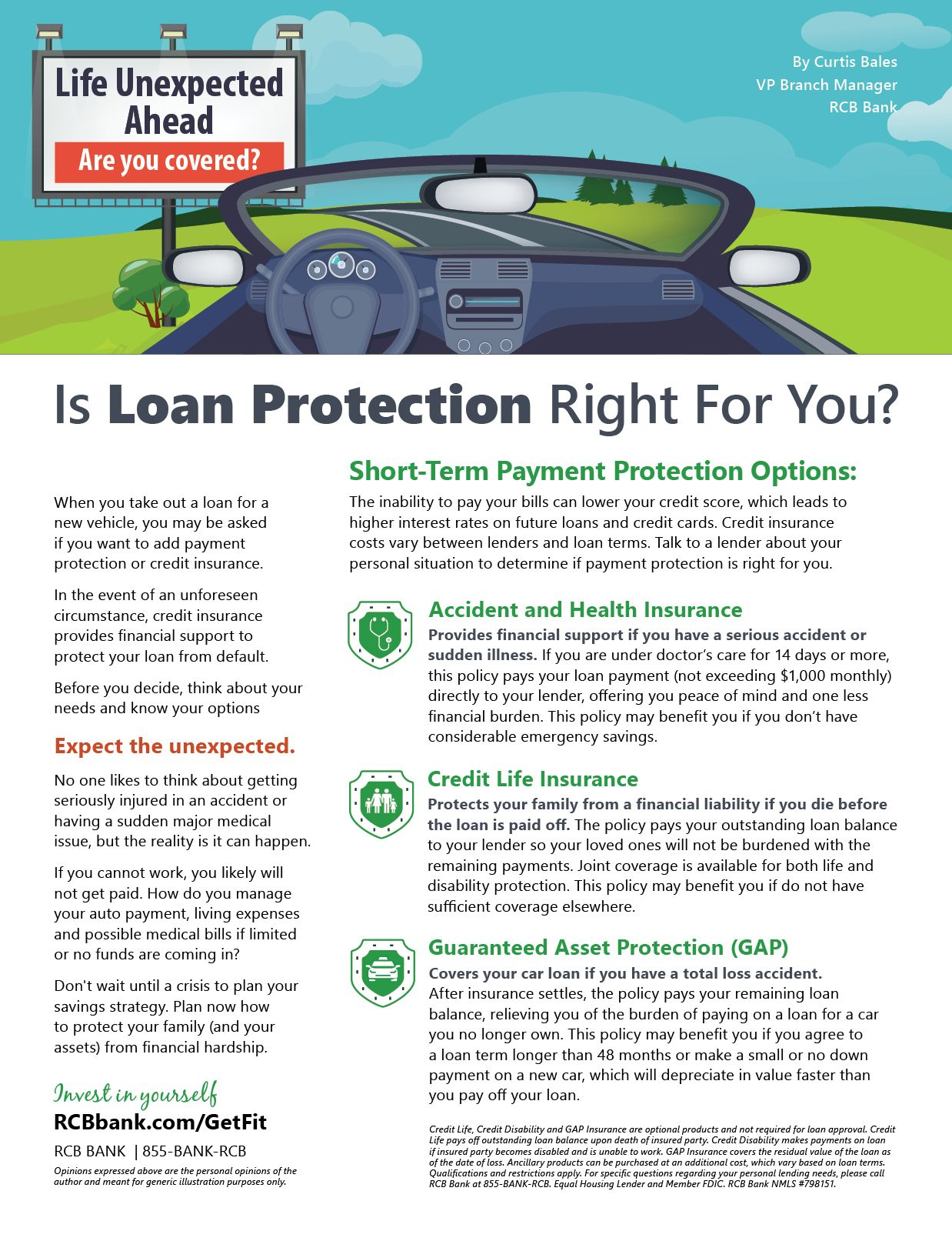 Is Loan Protection Right For You Loan Types Of Loans Banks Marketing
