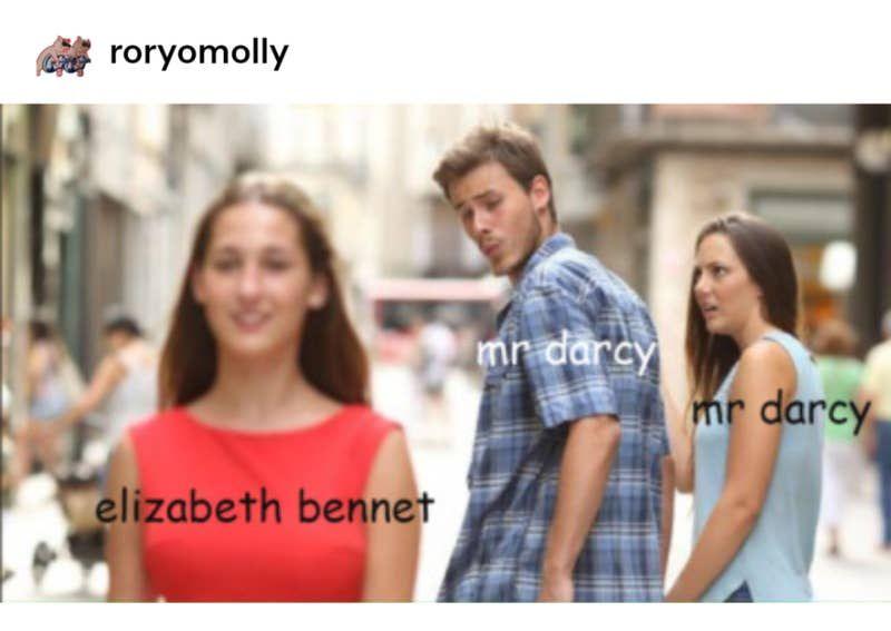 22 Times Tumblr Was Obsessed With Pride Prejudice Boyfriend Memes Meme Template Meme Faces