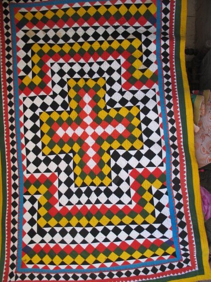 Ralli Quilt Design No. RQ-01 100% Cotton Hand stitched Beautiful ... : ralli quilts - Adamdwight.com