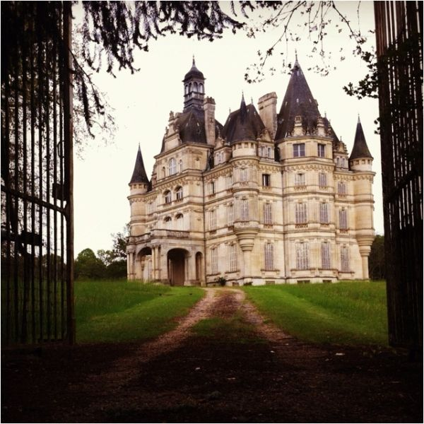 Castle In France By Rosalind French Castles Castle Castle House