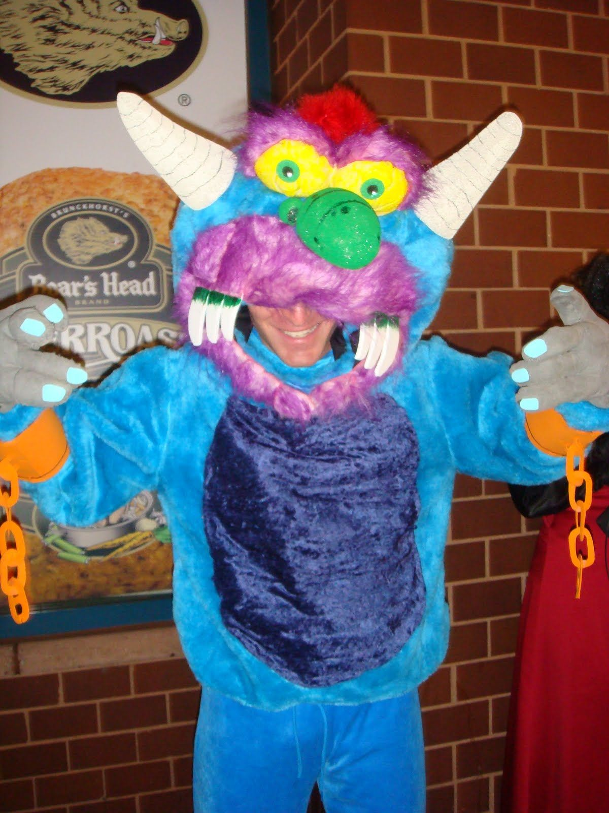 MY PET MONSTER Halloween Adult COSTUME MASK Colorful Fun Ben Cooper NEW | Collectibles, Holiday & Seasonal, Halloween | eBay!