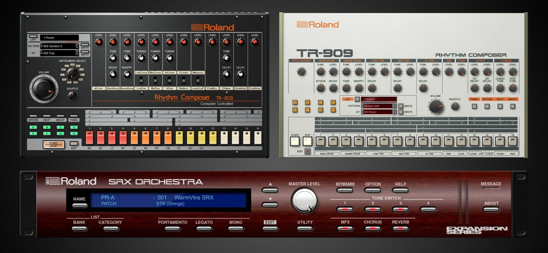 Roland is releasing official software versions of its 808