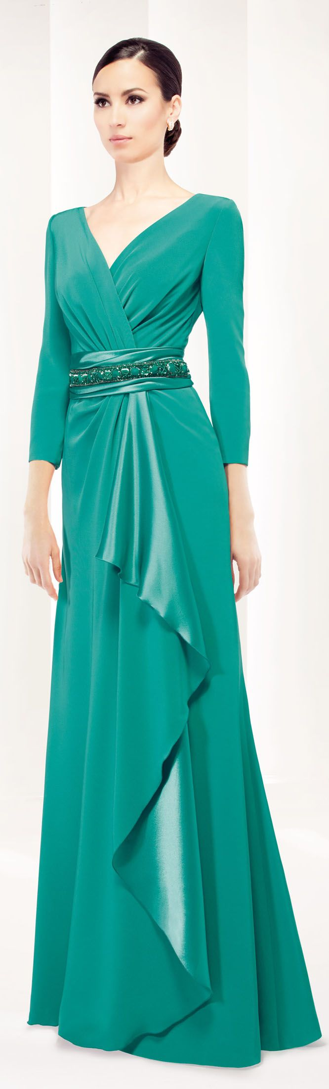 The Patricia Avendano Party Dresses 2015 Collection   Gorgeous Green ...