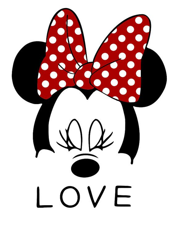 Minnie Mouse Face Svg File Mickey Mouse Wallpaper Minnie