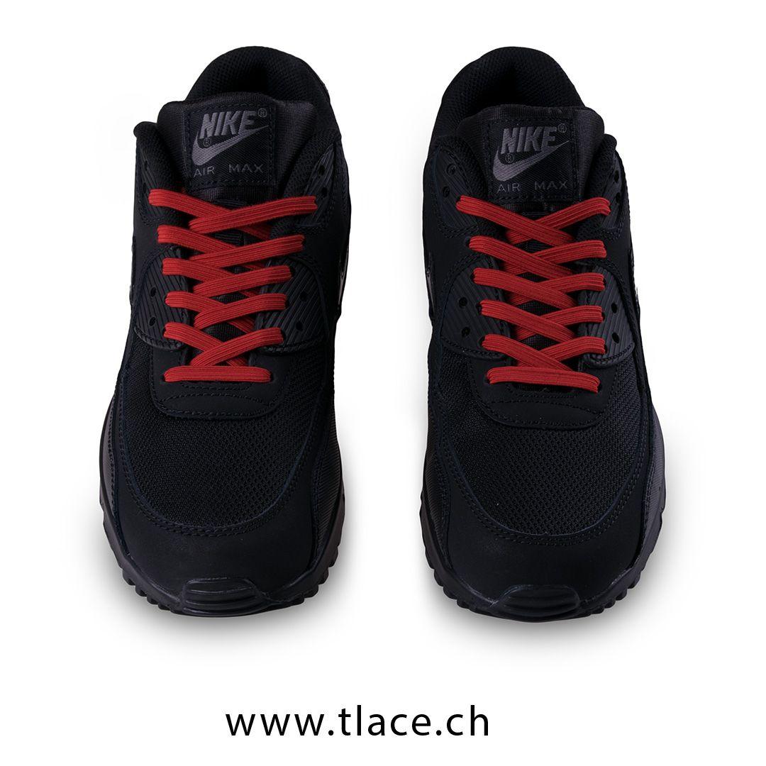 Nike Air Max mit elastischen Schnürsenkel von TLace