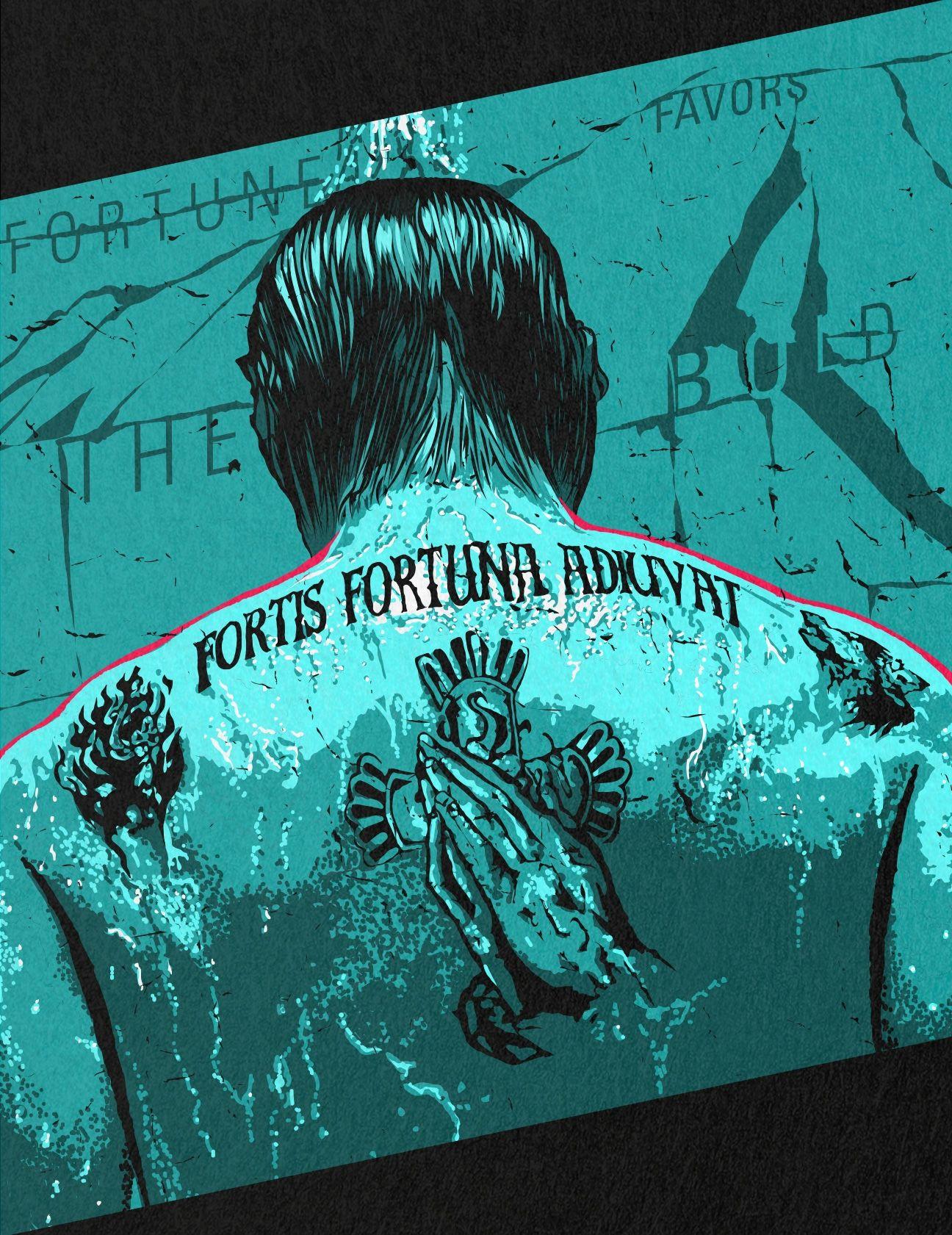 John Wicks Tattoo : wicks, tattoo, Decorativo:, Fortis, Fortuna, Adiuvat, Tattoo