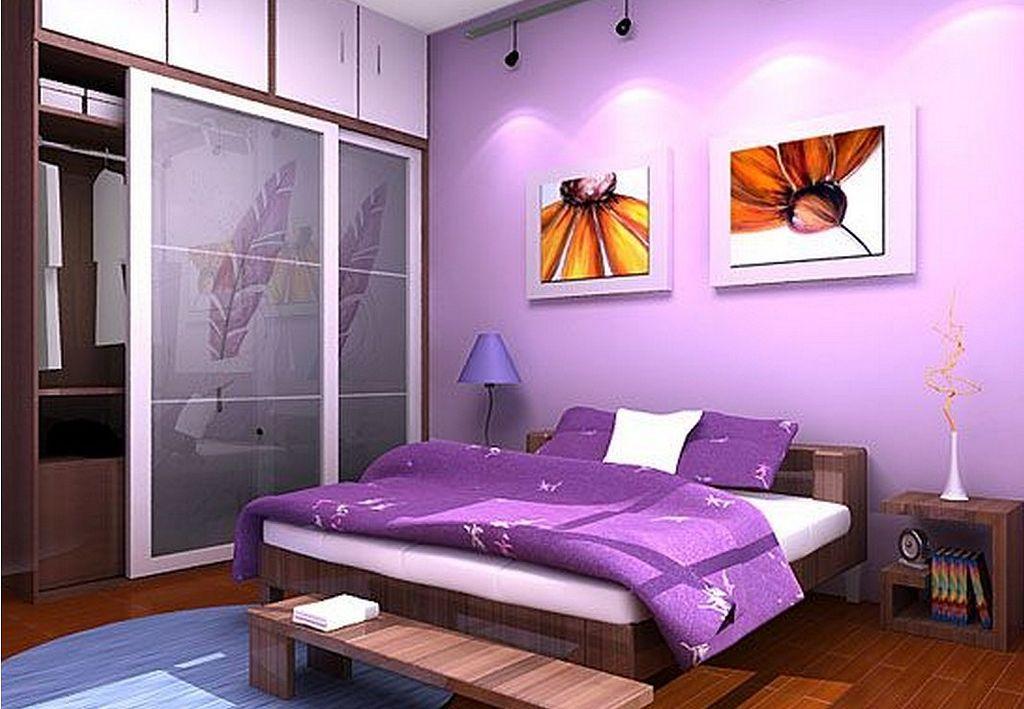 30+ Elegant Purple Bedroom Design Ideas | Bedroom color ...