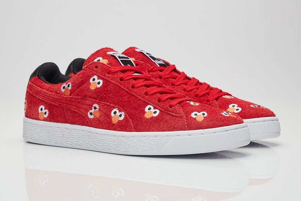 Cookie Monster and Elmo Sesame Street x PUMA Sneakers