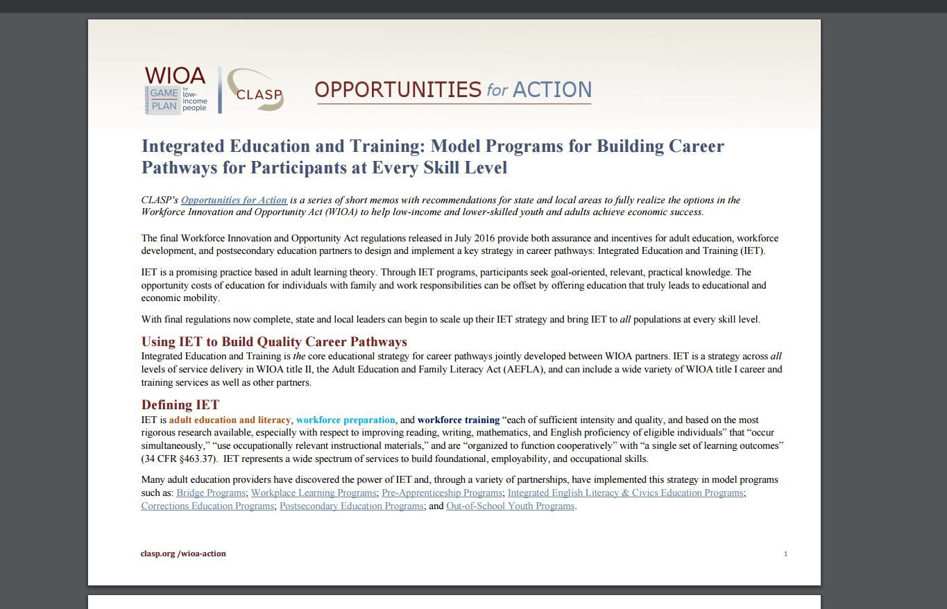 Pin By Career Pathways Exchange On Aligning Policies And Programs