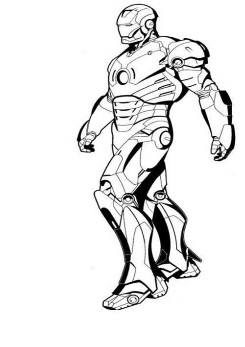 35 Desenhos de Os Vingadores para Imprimir/Colorir/Pintar ...