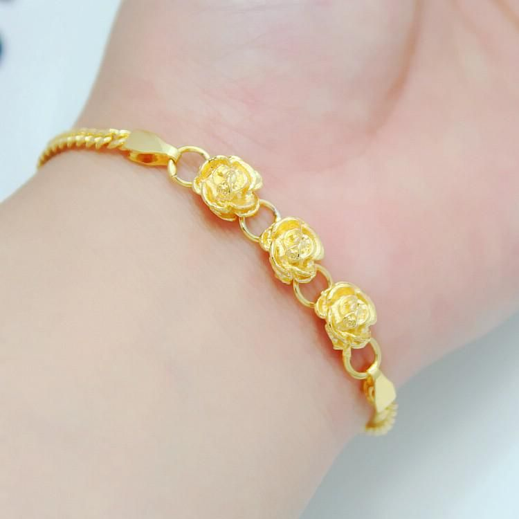 full-3-package-tact-gold-plated-flower-bracelet.jpg (750×750 ...