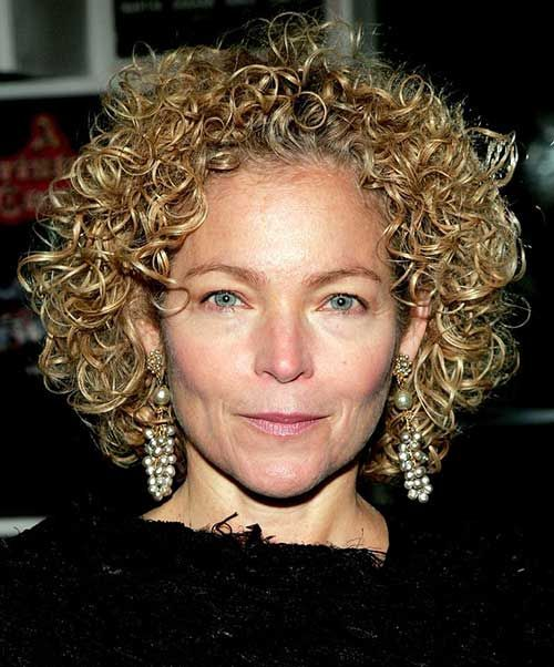 Curly Hairstyles For Women Over 50 | Thick curly hair, Curly and ...